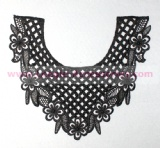 Embroidered Lace Collar